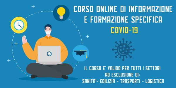 Corso formazione on line Covid-19
